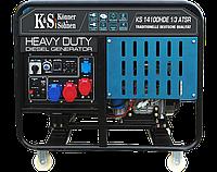 Дизельний генератор KS 14100HDE 1/3 ATSR, фото 1