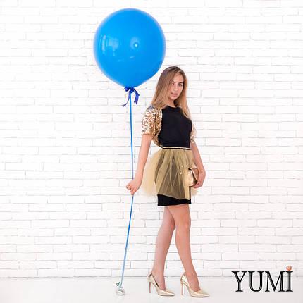 Синий шар-гигант 50 см, фото 2