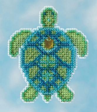 Набор для вышивки крестиком Sea Turtle Mill Hill