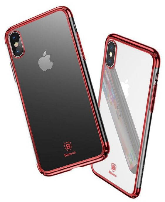 Чехол Baseus для iPhone X Minju Red