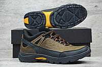 5bcc7aa0406c3f Мужские кожаные зимние ботинки Ecco. Полуботинки с мехом Черные Коричневый 2