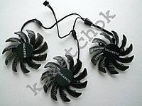 Вентилятор №16 кулер для видеокарты Gigabyte GTX TITAN 980 970 780 1080 760 1060 1070  PLD08010S12H T128010SU