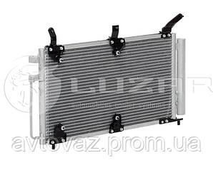 Радиатор с рессивером PANASONIC ВАЗ 1118, 1119 Калина с кондиционером (LRAC 0118) ЛУЗАР