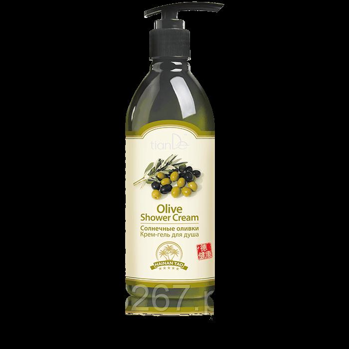 """Крем-гель для душа """"Солнечные оливки"""" Hainan Tao,  Вес:350 г"""