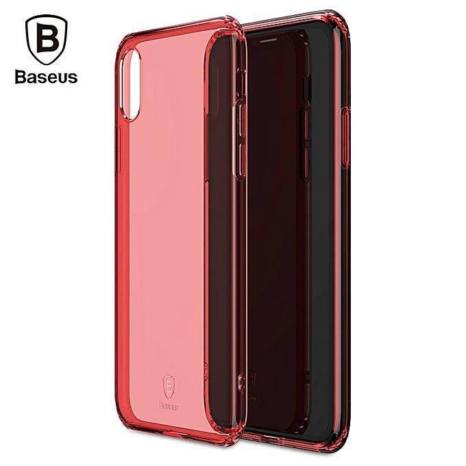 Чехол Baseus Simple iPhone X Red