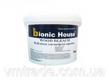 Отбеливатель для древесины с содержанием хлора (Bionic House Wood Bleach Cl ) 5 л