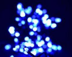 Гирлянда светодиодная 100ламп (LED) синий
