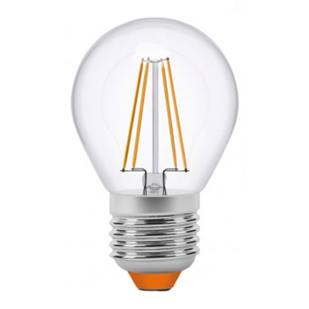 Светодиодная лампа Эдисона Videx G45 E27 4W Filament 3000K