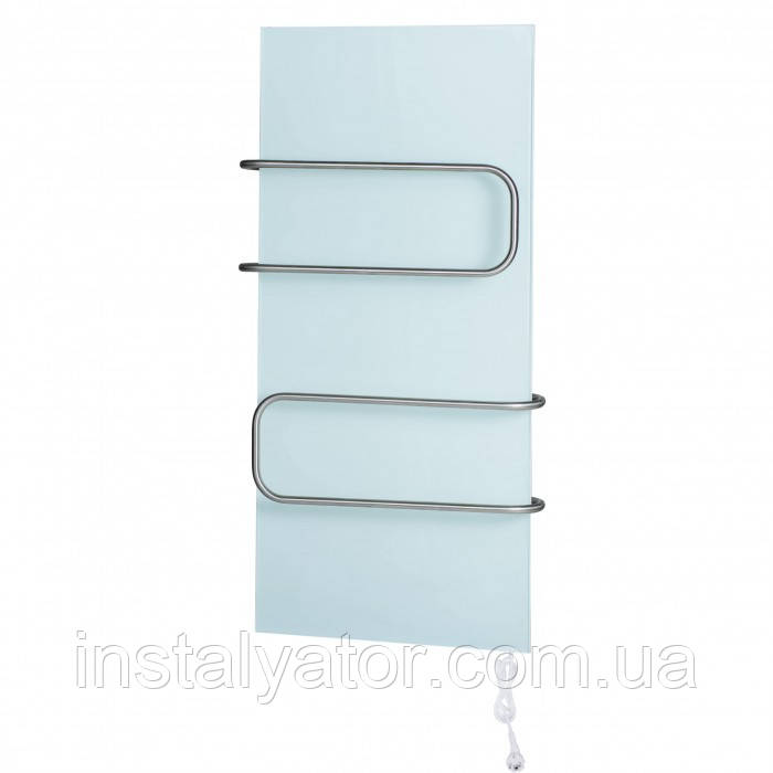 Керамический полотенцесушитель DIMOL Standart 07 (400х900х12, 370Вт, 14кг, без управления, рейлинги трубчатые)