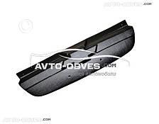 Накладка на решетку радиатора зимняя для Шевролет Авео матовый вариант