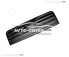 Накладка на решетку радиатора зимняя для Фиат Дукато 2006-2014 матовый вариант