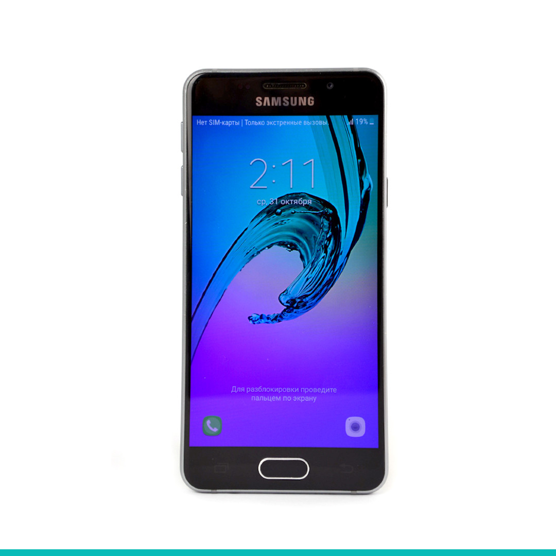 Смартфон Samsung Galaxy A3 2016 Duos SM-A310 16Gb Б/у