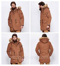 Куртка-парку тепла\зимова чоловіча Glo-Story, фото 2