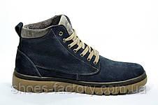 Зимние кожаные ботинки Clarks, на меху, фото 3