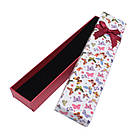 Подарочная коробочка под браслет или цепочку Бабочки 20,5*4,5*2,2 см, фото 4