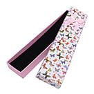 Подарочная коробочка под браслет или цепочку Бабочки 20,5*4,5*2,2 см, фото 5
