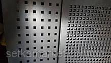 Перфорований Лист , чорний метал, товщина 0.8, осередок 5х5 мм (крок 7.5 мм)