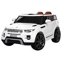 Детский электромобиль Джип «Land Rover» M 3108EBLR-1 (Белый)