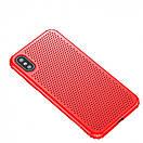Чехол Baseus small hole Red iPhone X, фото 2