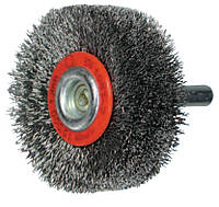 Щётка для текстурирования дерева с хвостовиком 8 мм, OSBORN D80х35 мм, кордовая проволока 0,25 мм Рустикорд