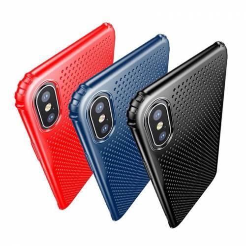 Чехол Baseus small hole Red iPhone X