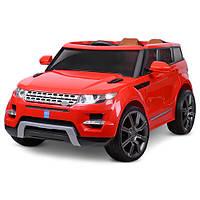 Детский электромобиль Джип «Land Rover» M 3108EBLR-3 (Красный)