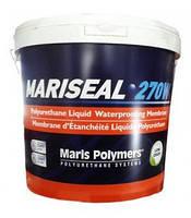 Жидкая гидроизоляционная мембрана холодного нанесения Mariseal 270W 6 кг (белая, серая)