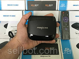 Оригінальна TV-Приставка MAGICSEE N4 2GB/16GB S905X (Android Smart TV Box)