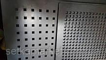 Перфорований Лист , чорний метал, товщина 0.8, осередок 5х5 мм (крок 15 мм.)