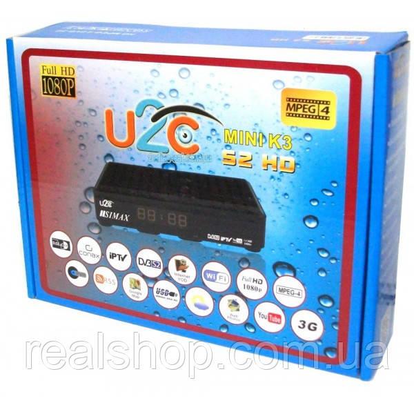 U2C mini K3 HD ресивер + бесплатная прошивка!