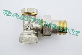 Вентиль угловой радиаторный Koer kr.902 1/2x1/2