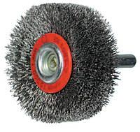 Цилиндрическая щётка с хвостовиком 6 мм, OSBORN D80х19 мм, гофрированная латунная проволока 0,20 мм