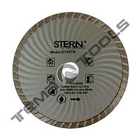 Алмазный диск турбоволна STERN 115x7x22.23 отрезной для болгарки (по бетону, камню, граниту)