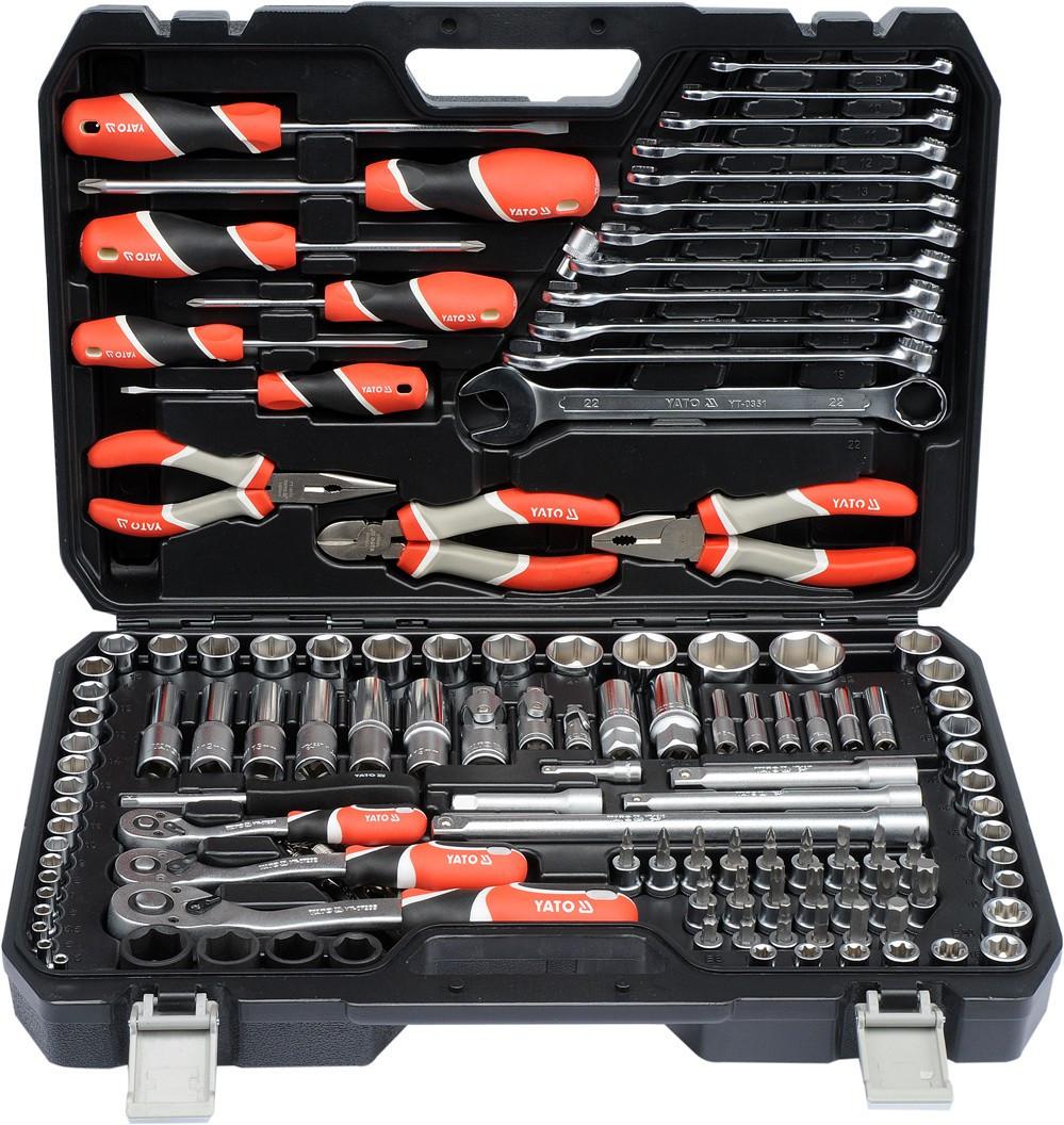 Набір інструментів 129 одиниць YATO YT-38881