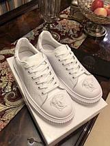 Мужские кроссовки Versace натуральная кожа черные.Купить в Украине!Новинка!, фото 3