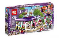 "Конструктор Lepin 01060 ""Арт-кафе Эммы"" Френдс, 423 детали. Аналог Lego Friends 41336, фото 1"