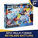 Бейблейд Арена Боевая башня и 2 волчка Волтраек V2 и Ноктемис N2 Beyblade Burst Battle Tower Hasbro, фото 7