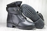 Стильные женские зимние ботинки натуральная кожа Versal