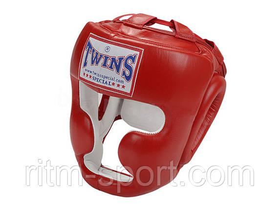 Шлем для бокса с полной защитой TWINS, фото 2