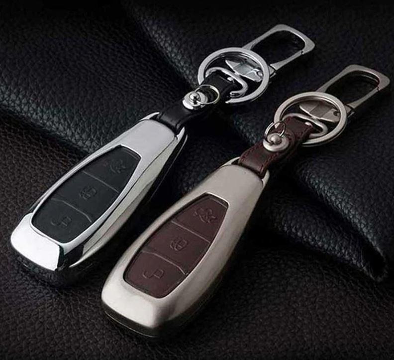 Металлический чехол для ключа Ford fiesta,B/C/S-max,Focus,Kuga,Edge,Mondeo Mustang,F150,fusion,Explorer,Taurus