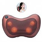 Массажер роликовый для шеи и спины Massage pillow GHM 8028, фото 2