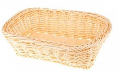 Кошик пластикова Empire прямокутна для хліба плетені 25 х 20 см 9789