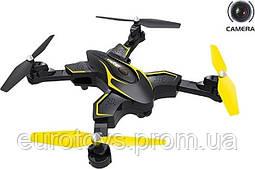 SYMA Квадрокоптер X56WP 2,4 Ггц управлением, складной конструкцией и FPV-камерой  (35,5 cм)