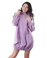 Флисовое домашнее платье-туника (размеры S-XL в расцветках)