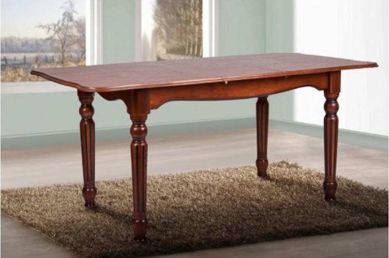 Стол обеденный из массива дерева, раздвижной -Венеция (орех,слоновая кость)
