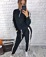 Спортивный женский костюм из плотного трикотажа 305527, фото 1