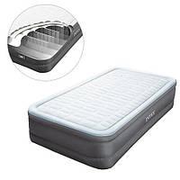 Велюр кровать 64486 (1шт) с встроенным эл насосом 220В,