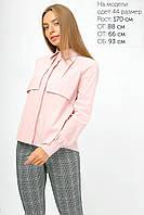 Женская блуза А-образного силуэта с пелериной (2113)