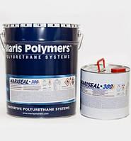Рідка гідроізоляційна мембрана холодного нанесення Mariseal 300 6+1 кг (біла, сіра)