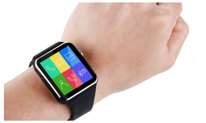 Умные часы Smart Watch X6 Black 0b2fc792e972f